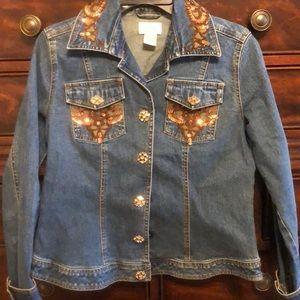 Glitzy Jean jacket